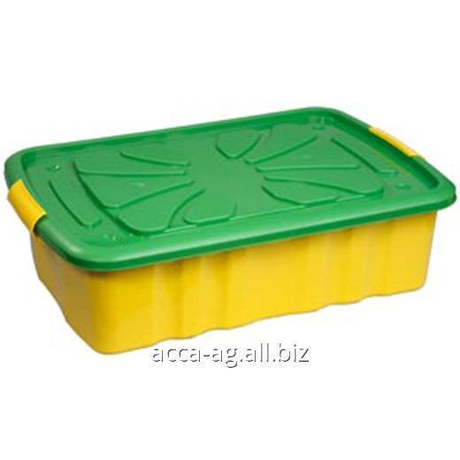 Купить Ящик для игрушек 600x400x170 на колесах Артикул : 300