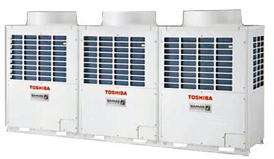 Купить Мультизональная VRF система SMMSi Toshiba - 3 компрессора в блоке