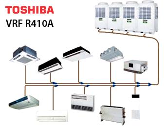 Купить Мультизональная VRF система SMMS Toshiba (R410а)