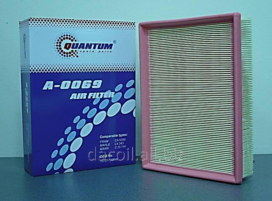A-0069 Воздушный фильтр Quantum QA0069