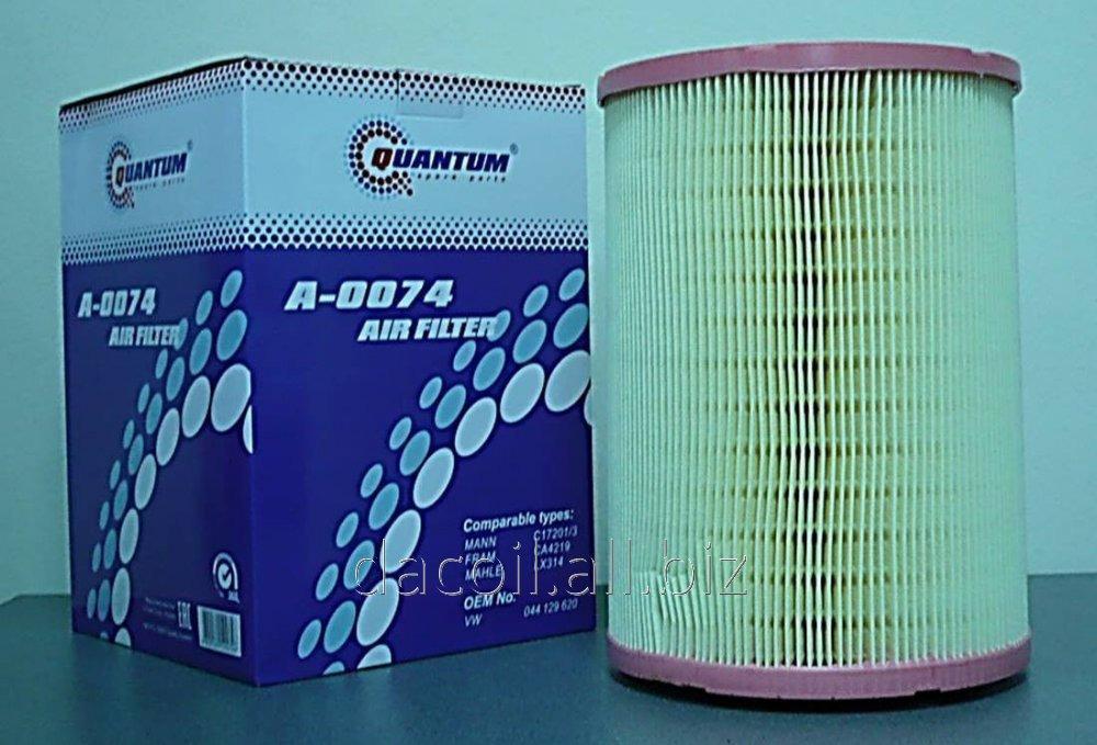Купить A-0074 Воздушный фильтр Quantum QA0074