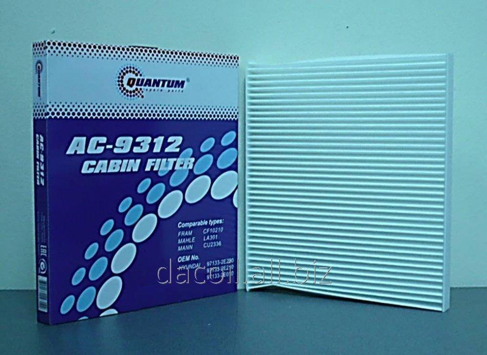 AC-9312 Салонный фильтр Quantum QAC9312