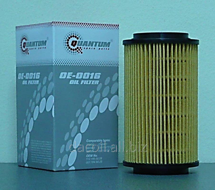 Купить OE-0016 Масляный фильтр Quantum QOE0016