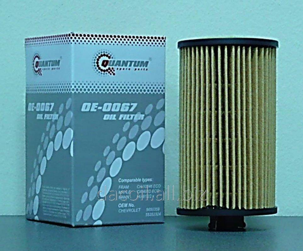 Купить OE-0067 Масляный фильтр Quantum QOE0067