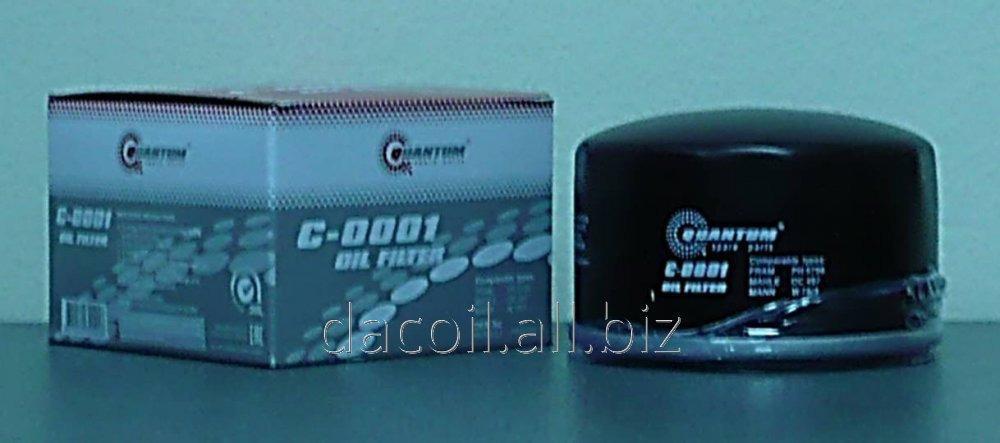 C-0001 Масляный фильтр Quantum QC0001