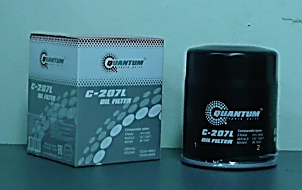 Купить C-207 Масляный фильтр Quantum QC207