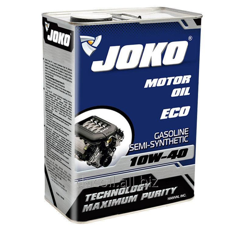 Купить Моторное масло JOKO GASOLINE ECO Semi-synthetic SJ/CF-4 10w-40 4л JSJ104