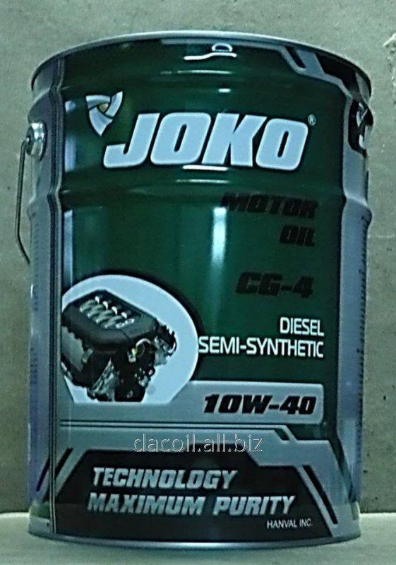 Моторное масло JOKO DIESEL Semi-synthetic CG-4 10w-40 20л JCG120