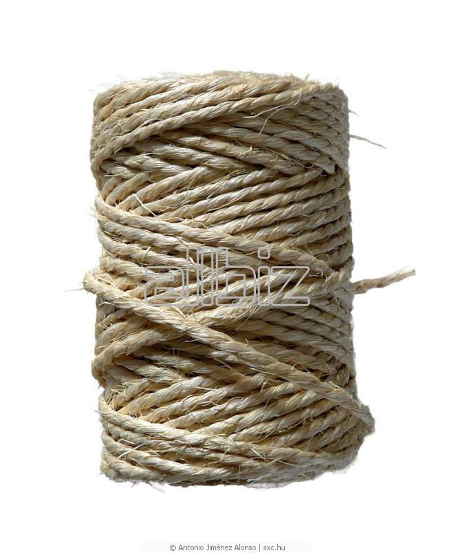 Веревки, шпагат и сеточное полотно