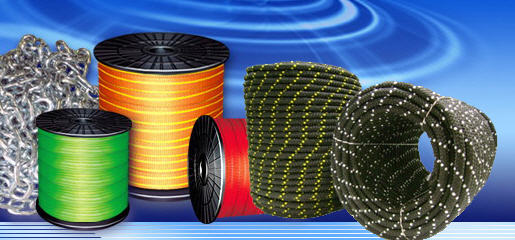 Rope fishing twisted (polypropylene)