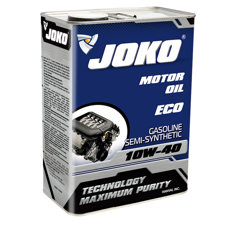 Моторное масло JOKO GASOLINE ECO Semi-synthetic SJ/CF-4 10w-40 4л