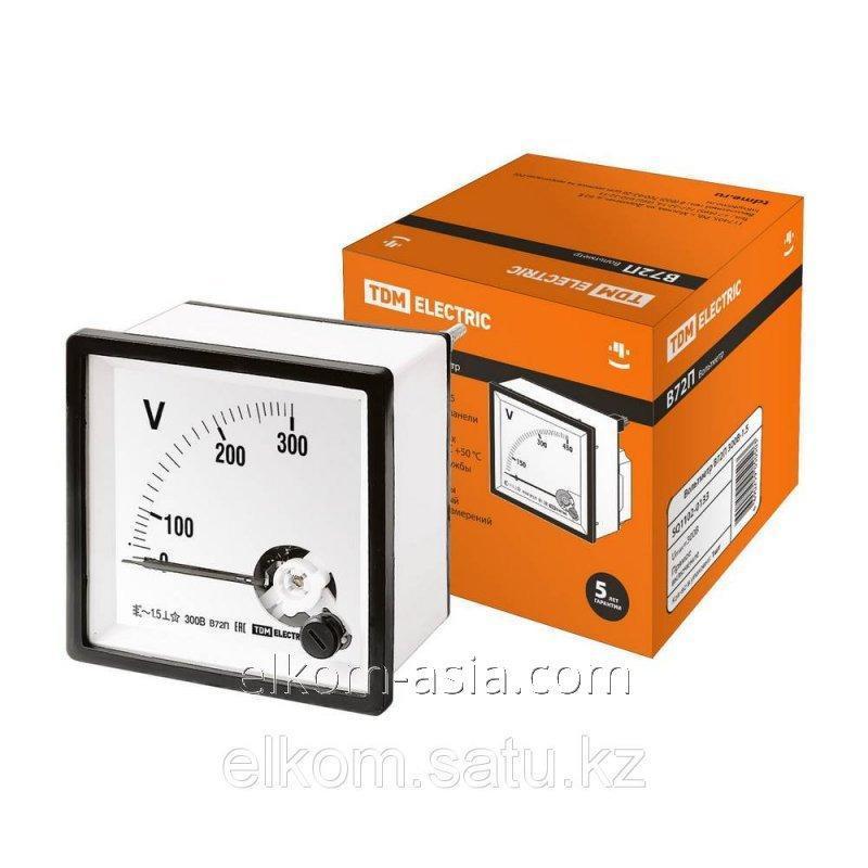 Купить Вольтметр В72П 300В-1,5 TDM