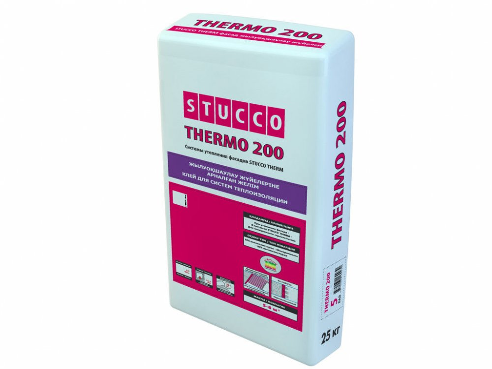 Купить Клей для систем теплоизоляции Thermo 200 25 кг.