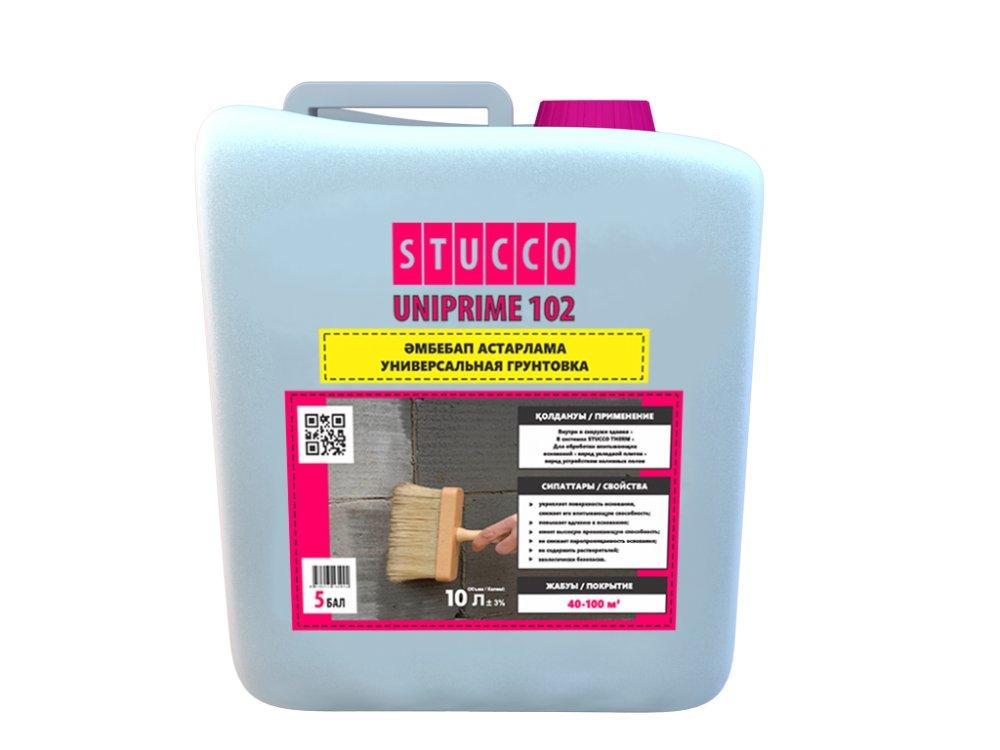 Buy The universal deep-getting Primer of Stucco Uniprime 102 Super of 5 kg