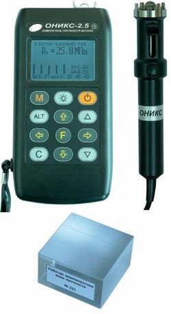 Купить Электронный склерометр (измеритель прочности бетона) ОНИКС-2.5