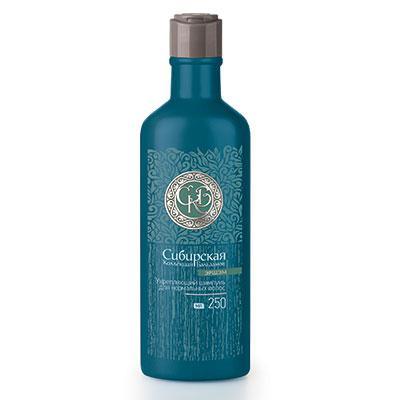 Шампунь укрепляющий для нормальных волос (зеленая серия) Эршэм (Энергия)