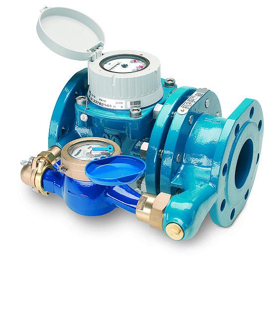 Счетчик воды WPV-NK 40°, Ду100, Qn60/2,5, 360мм