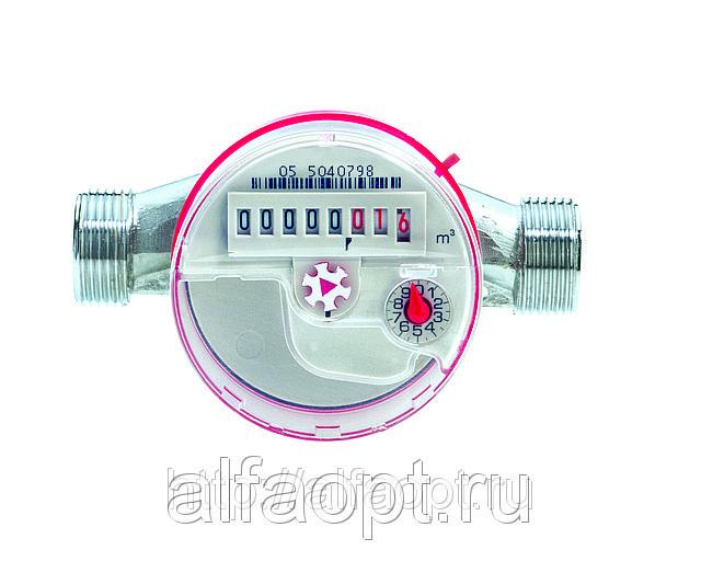 Счетчик воды СТГ Миномесс, 90°C, DN 15, Qn 1,5, L 110 mm, без присоед.