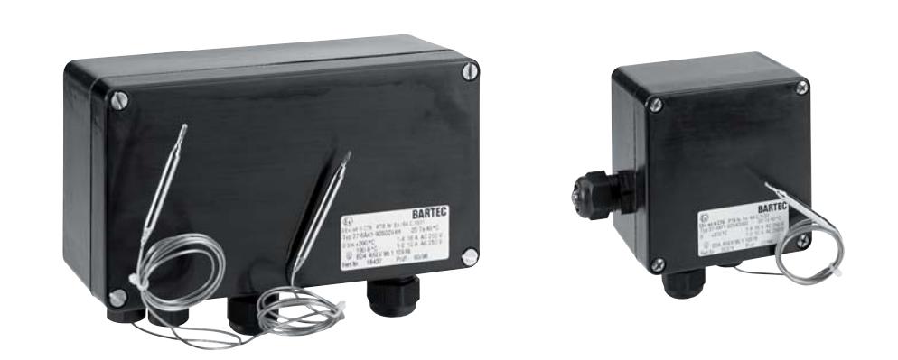 Предохранительный термостат BSTW, тип 27-6DF2-52321200