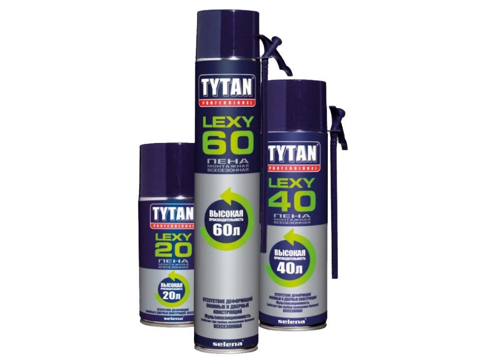 Пена Tytan СТД О2 750 мл