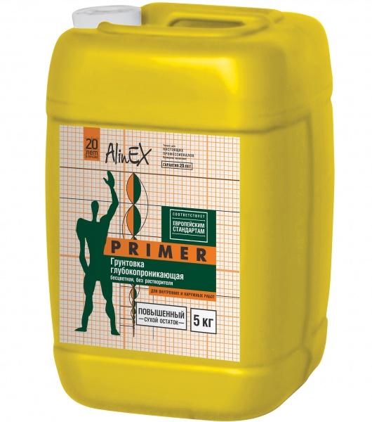 Грунтовка AlinEX 10 лит. Желтый