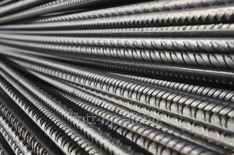 Арматура 25 Ат800К, сталь 35ГС, в прутках, по ГОСТу 10884-94