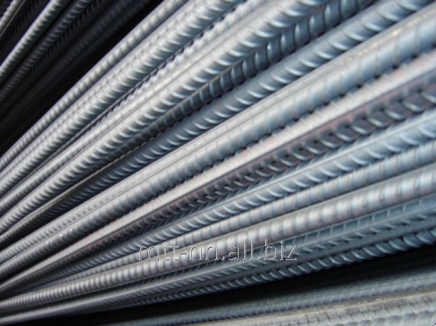 Арматура 28 Ат400С, сталь 3сп, 3пс, в прутках, по ГОСТу 10884-94