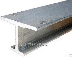 I-beam 100 B4 aço 09Г2С, 345-14, soldadas, normal, de acordo com GOST 26020-83
