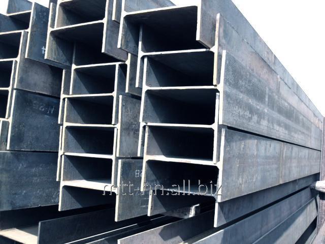 Балка двутавровая 20 сталь С345, 09Г2С-14, горячекатаная, по ГОСТу 8239-89
