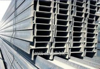 Buy 30Sh1 steel i-beam with 345, 09g2s-14, hot-rolled, merchant, by Gost 26020-83