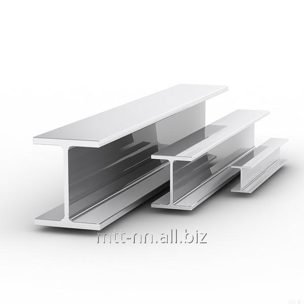 40 steel i-beam with 345, 09g2s-14, hot-rolled, GOST 8239-89