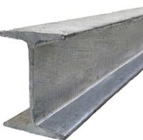 Suplimentare din oţel i-beam cu 255, 3sp5, sudate, coloana, conform GOST 26020-83