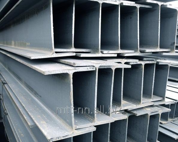Балка двутавровая 50Ш1 сталь С345, 09Г2С-14, горячекатаная, широкополочная, по ГОСТу 26020-83