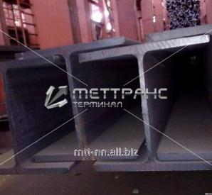 50Sh3 steel i-beam with 255, 3sp5, hot-rolled, merchant, by Gost 26020-83