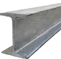 Балка двутавровая 50Ш4 сталь С345, 09Г2С-14, горячекатаная, широкополочная, по ГОСТу 26020-83