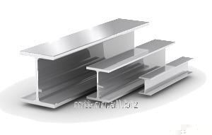 70Sh1 steel i-beam with 345, 09g2s-14, hot-rolled, merchant, by Gost 26020-83