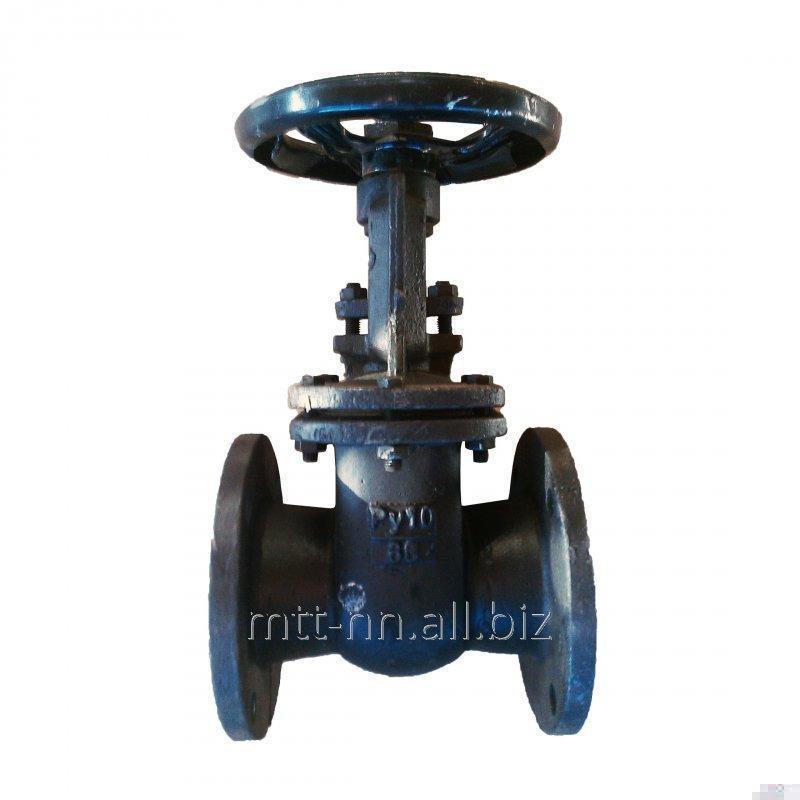 Задвижка 30лс41нж 1000 Ру 16 кгс, стальная, фланцевая, t до 425 °С