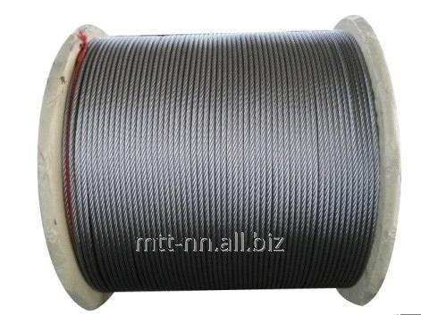 Купить Канат нержавеющий 4 сталь AISI 321, ГОСТ 2172-80, тип ТК