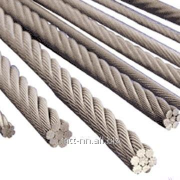 Купить Канат нержавеющий 6,4 сталь AISI 321, ГОСТ 2172-80, тип ТК