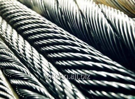 Купить Канат нержавеющий 9,5 сталь AISI 304, ГОСТ 2172-80, тип ТК