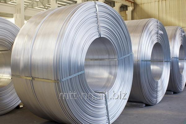 Buy Aluminum Rod 9 according to GOST 13843-78, mark À5å