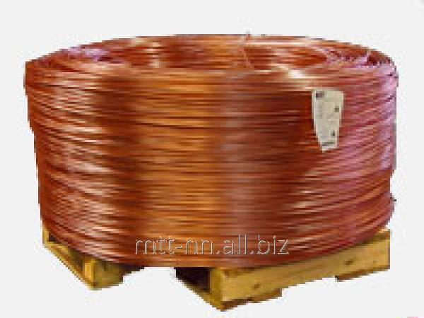 Катанка медная 12,7 для электротехнических целей по ГОСТу 53803-2010, арт. 50522879