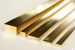 Buy Square brass 95 according to GOST 2060-2006, mark Lmcz, n.d. 58-2, L = 3 m, L = 6 m