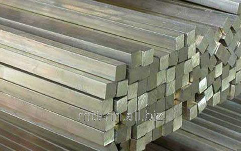 Square stainless steel 50 06ХН28МДТ, 03HN28MDT, GOST 2591-2006