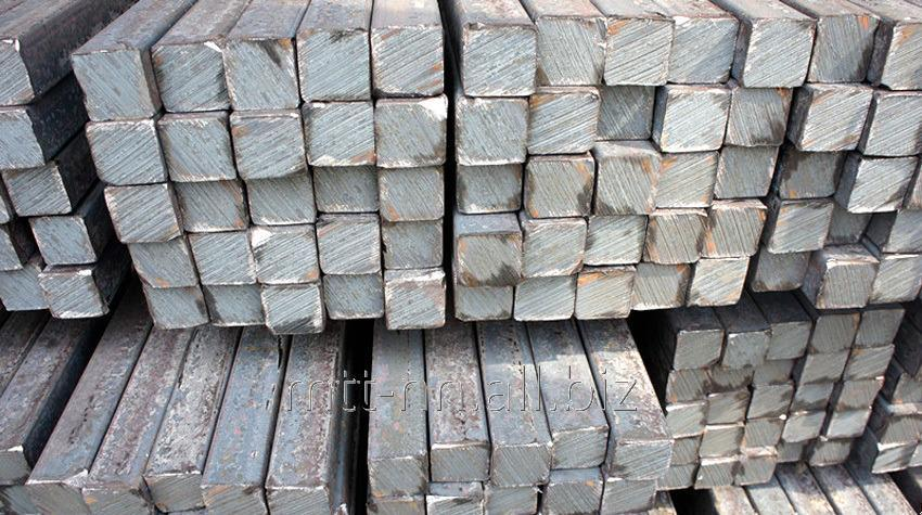 Квадрат стальной 10 горячекатаный, сталь 08пс, 08, 10, 15, 20, ГОСТ 2591-2006