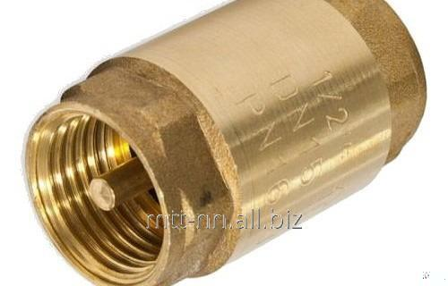 Купить Клапан обратный 16Б5нж 6 Ру 25 кгс, латунный, муфтовый, t до 225 °С