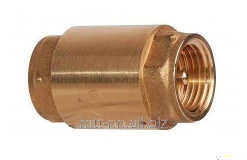 Купить Клапан обратный 16Б7п 25 Ру 63 кгс, латунный, муфтовый, t до 100 °С