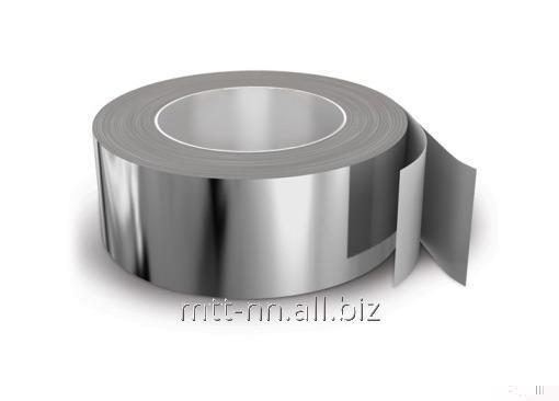 Лента алюминиевая 40x1.7 по ГОСТу 13726-97, марка А7