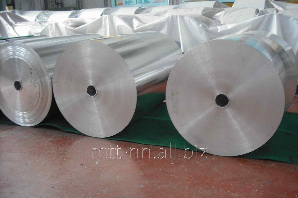 Лента алюминиевая 40x1.7 по ГОСТу 13726-97, марка АД0