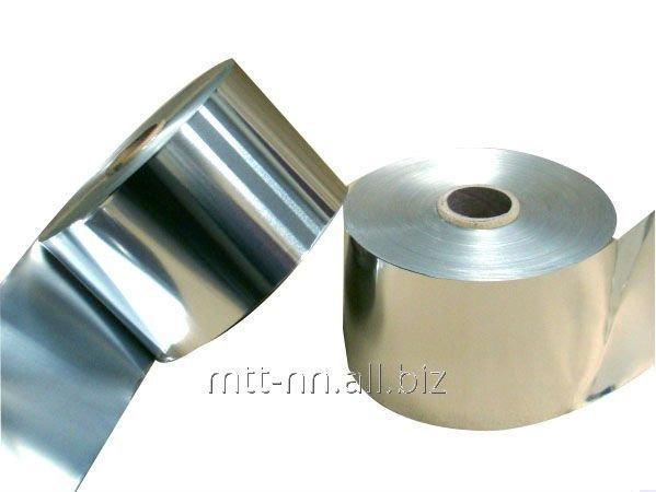 Лента алюминиевая 40x1.9 по ГОСТу 13726-97, марка А0